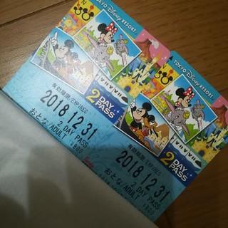 ディズニー(Disney)のディズニーリゾートライン 2DayPass (遊園地/テーマパーク)