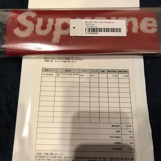 シュプリーム(Supreme)のsupreme week8 New Era ロゴヘッドバンド(その他)