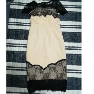 デイジーストア(dazzy store)のデイジーストア ギャバ ドレス ワンピ 週末限定価格(ナイトドレス)