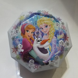 アナトユキノジョオウ(アナと雪の女王)のディズニーランド2016年 フローズンファンタジー チョコレート空き缶(キャラクターグッズ)