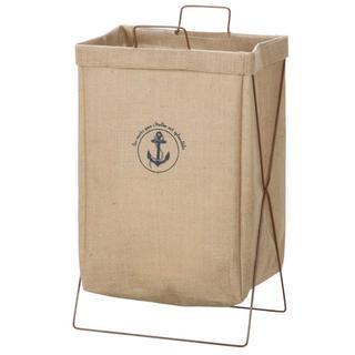 【自立でスマート】 洗濯物入れ かご ランドリー ボックス 取っ手付 おもちゃ箱