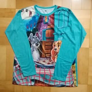 ディズニー(Disney)のわんわん物語のレディ&トランプ★長袖Tシャツ★ロンT(Tシャツ(長袖/七分))