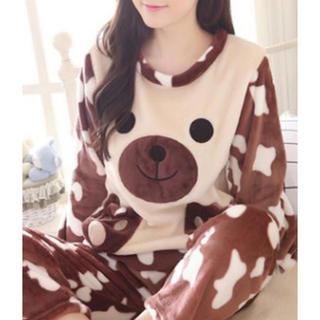 ジーユー(GU)のもこもこくまさんパジャマ(ルームウェア)