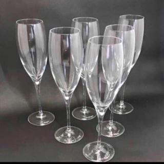 ドンペリニヨン(Dom Pérignon)の【新品】ドンペリシャンパングラスセット 6脚 ブーブクリコ モエともあります(グラス/カップ)