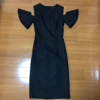 ZARA - ZARA ワンピース ドレス オフショル 結婚式 2次会