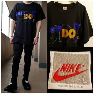 ナイキ(NIKE)のアメリカ製 90's 銀タグ NIKE JUST DO IT 半袖カットソー(Tシャツ/カットソー(半袖/袖なし))