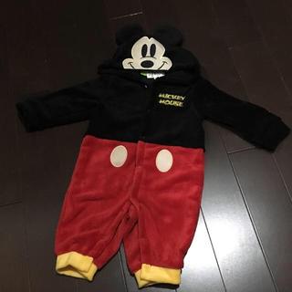 Disney - ミッキーの着ぐるみロンパース