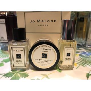 ジョーマローン(Jo Malone)のジョーマローン ライムバジル&マンダリン ミニセット+ペーパーバッグ ※新品※(ユニセックス)