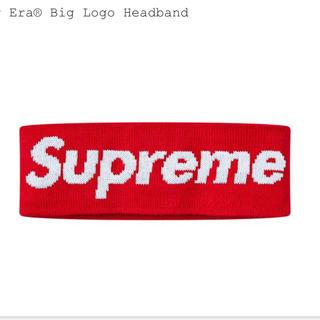 シュプリーム(Supreme)のsupreme New Era® Big Logo Headband レッド (その他)