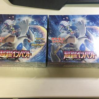 ポケモン - 【新品未開封】ポケモンカードゲーム 超爆インパクト 2box シュリンク付き