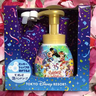 ディズニー(Disney)のディズニーリゾート ミッキーシェイプ ビオレu泡ハンドソープ(日用品/生活雑貨)
