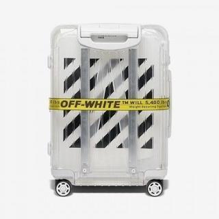 リモワ(RIMOWA)の送料込!OFF WHITE×Rimowa PERSONAL BELONGING①(トラベルバッグ/スーツケース)