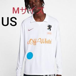 ナイキ(NIKE)のナイキ X オフ-ホワイト ホーム  メンズ サッカージャージー(Tシャツ/カットソー(七分/長袖))
