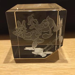 ディズニー(Disney)のディズニー オブジェ クリスタルガラス(置物)