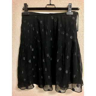 デレクラム(DEREK LAM)のデレ・クラム   シルクスカート(ひざ丈スカート)
