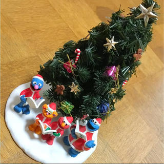 SESAME STREET - セサミストリート  ミニクリスマスツリー