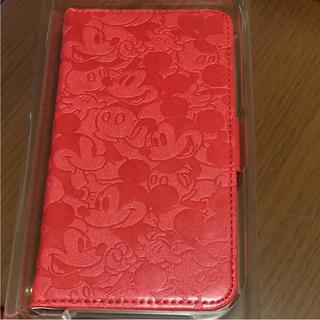 Disney - ミッキー 手帳型iPhoneX用 ケース