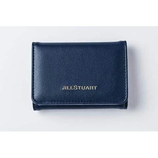 ジルスチュアート(JILLSTUART)のMORE モア 付録 ジルスチュアート 三つ折り 財布 ネイビー ミニ財布(財布)