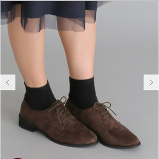 アーバンリサーチ(URBAN RESEARCH)の【新品】アーバンリサーチ トゥレースアップシューズ(ローファー/革靴)