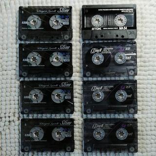 カセットテープ メタル+ハイポジション 8本セット⑤(その他)