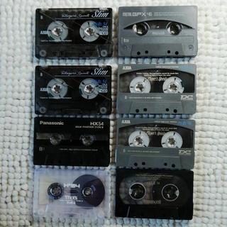 カセットテープ メタル+ハイポジション 8本セット⑥(その他)