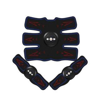 腹筋 USB充電式ems 腹筋ベルト ボディフィット(エクササイズ用品)
