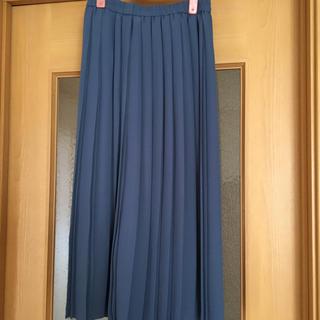ユニクロ(UNIQLO)の新品未使用プリーツスカート(ロングスカート)