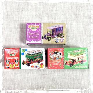 Disney - 新品 TDR ディズニー クリスマス トミカ 3台