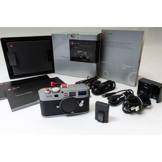 ライカ(LEICA)の LEICA ライカ M9 CCD換装 ショット数3016枚 予備バッテリ付き(デジタル一眼)