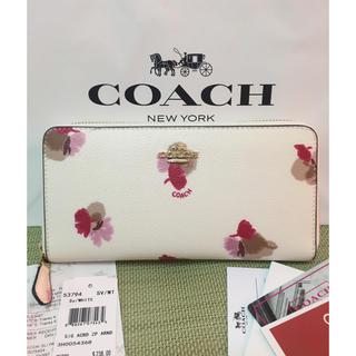 コーチ(COACH)のコーチ長財布 訳あり 未使用(財布)