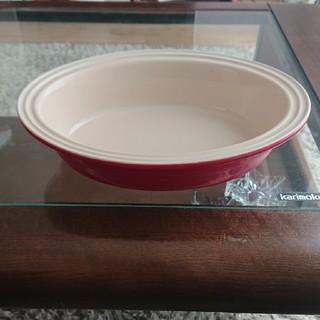 ルクルーゼ(LE CREUSET)のル・クルーゼ LE CREUSET 大皿 赤色(食器)