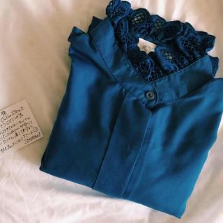 サンタモニカ(Santa Monica)のvintage ブラウス blouse(シャツ/ブラウス(長袖/七分))