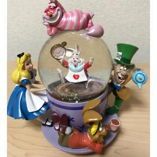 ディズニー(Disney)のアリス ティーカップ スノードーム(置物)