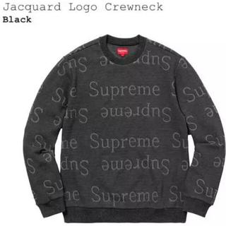 シュプリーム(Supreme)のSupreme Jacquard Logo Crewneck(ニット/セーター)