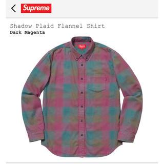 シュプリーム(Supreme)のM Supreme Shadow Plaid Flannel Shirt (シャツ)