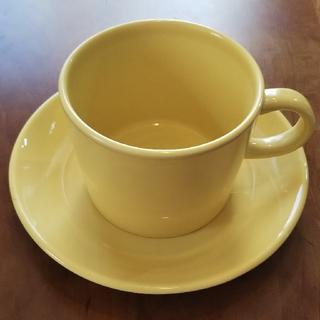 iittala - イッタラ ティーマ イエロー コーヒーカップ&ソーサー