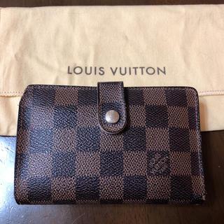 ルイヴィトン(LOUIS VUITTON)のルイヴィトン ダミエ がま口 ガマ口 折財布 早い者勝ち(財布)