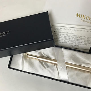MIKIMOTO - 【新品未使用】ミキモト パール付きボールペン