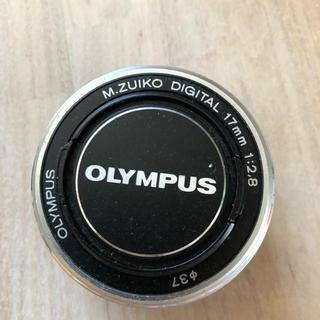 オリンパス(OLYMPUS)のOLYMPUS レンズ パンケーキ(レンズ(単焦点))