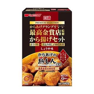ニッシンセイフン(日清製粉)の日清プレミアムから揚げグランプリ から揚げセットしょうゆ味 140gx2(調味料)