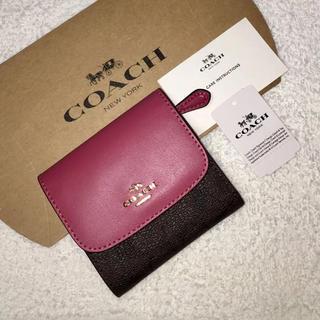 コーチ(COACH)のCOACH  コーチ  三つ折り財布(財布)