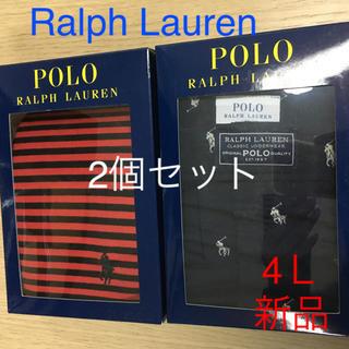 ポロラルフローレン(POLO RALPH LAUREN)の新品 Ralph Lauren トランクス ×2個セット 4L  polo(トランクス)