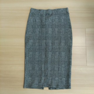 ザラ(ZARA)のZARA チェックタイトスカート(ロングスカート)