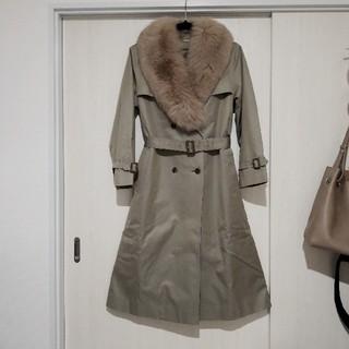 キャラット(Carat)のCarat♡BLUE FOX高級毛皮ロングコート(毛皮/ファーコート)