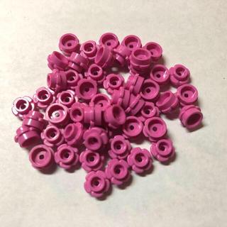 レゴ(Lego)のレゴ フラワープレート ピンク 大量 50個(積み木/ブロック)