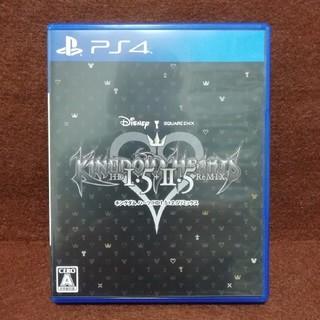 PlayStation4 - 中古 キングダムハーツHD1.5+2.5 リミックス PS4