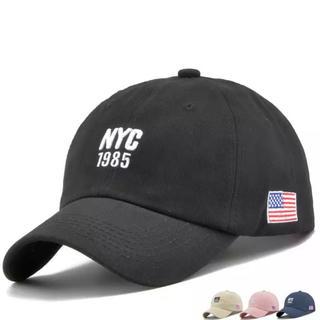 NYC デニムキャップ ユニセックス 星条旗(キャップ)