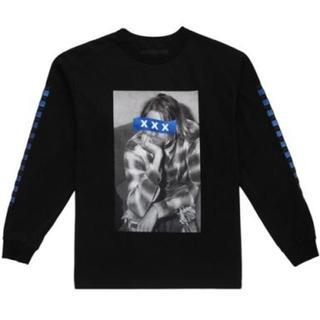 ジィヒステリックトリプルエックス(Thee Hysteric XXX)の完売 新作 GOD SELECTION XXX L/SブラックM(Tシャツ/カットソー(七分/長袖))