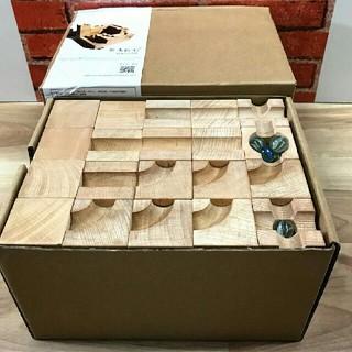 積み木ブロック 60ピース すべすべ木製(積み木/ブロック)