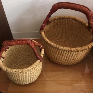 イデー(IDEE)のカゴ idee ブルキナファソ 製バスケット(バスケット/かご)